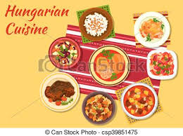 cuisine signature hungarian cuisine signature dishes icon hungarian cuisine