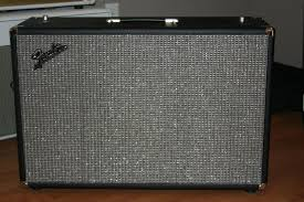 vintage fender 2x12 cabinet fs reproduction fender bandmaster 2x12 cabinet unloaded the gear page