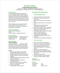 Key Competencies Examples For Resume by Sample Resume 9 Examples In Pdf Word
