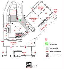 Security Floor Plan Nerman Museum Of Contemporary Art Building Map Nmoca