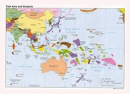 australia map of cities maps of australia and oceania and oceanian countries political