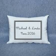 Personalized Housewarming Gift For Anniversary Cushion Pillow Home