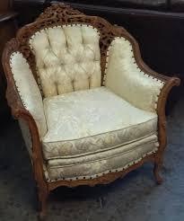 French Provincial Armchair Uhuru Furniture U0026 Collectibles Sold Deutsch Bros Vintage French