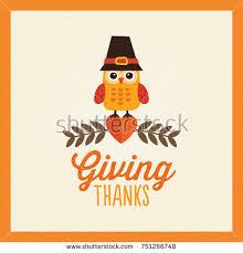 happy thanksgiving day card design autumn stock vector 163712636
