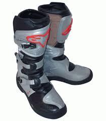 motocross boots alpinestars tech 4s kids motocross boots silver