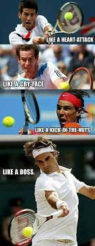 Funny Tennis Memes - 522 best roger federer images on pinterest tennis players roger