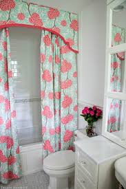 curtain ideas for bathrooms shower curtain valance ideas contemporary bathroom