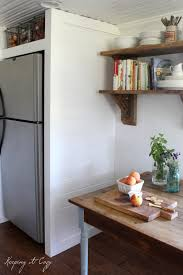 Built In Refrigerator Cabinets Above Refrigerator Cabinet Best Home Furniture Decoration