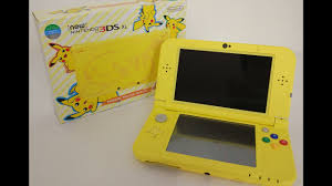 3ds xl amazon black friday pikachu yellow edition new 3ds xl unboxing volcanion giveaway
