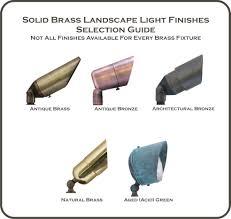 Brass Landscape Lighting Evergreen B224 Solid Brass Path Light Lighting Electrical