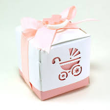 maple craft baby stroller design cutout favor boxes 2