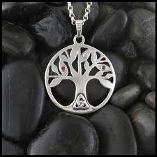 knot bar necklace family trees celtic tree and pendants