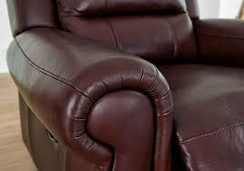 Reclining Leather Armchairs Arizona Recliner Leather Armchair Furniture Village