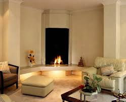 Small Living Rooms With Corner Fireplaces Living Room Corner Fireplace Design Corner Fireplace Design