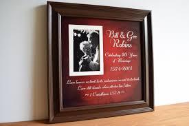 40 year anniversary gift ideas anniversary gift 40th wedding anniversary parents
