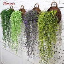 wedding backdrop accessories artificial hanging plants plastic wedding wall decor wedding