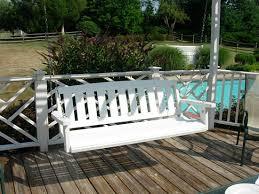outdoor bench swing progressive