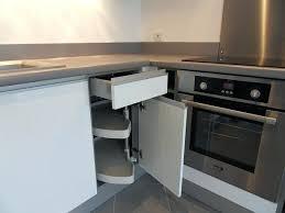 angle plan de travail cuisine plan de travail d angle cuisine cuisine en gris clair et plan de