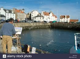 Colour Color Pittenweem Harbour Local Artist Painter Painting Paint Colour