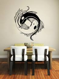 yin yang wall decor home decoration ideas fancy lovely home