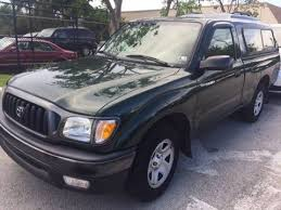 2004 Toyota Tacoma Interior Used Toyota Tacoma Under 7 000 In Florida For Sale Used Cars