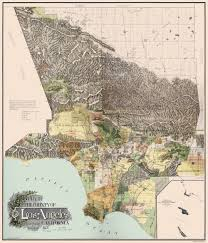 Zip Code Map San Jose by Old County Map Los Angeles California 1898