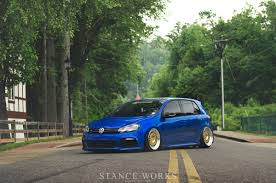 volkswagen golf stance stanceworks golf r vw gti club