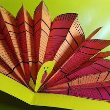 pop up turkey craft free printable turkey feathers and