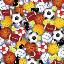 play sports balls gift wrapping roll 24 x 16