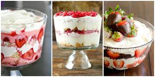 13 valentine u0027s day trifle recipes easy trifle desserts for
