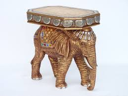 Elephant Side Table Pop Decoration Furniture Accessories Tables Side Table