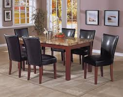 black granite top dining table set glamorous black granite dining room table 28 for minimalist with