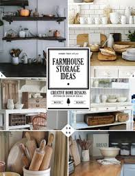 farmhouse storage and organization ideas home tree atlas