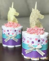 baby shower centerpiece girl unicorn cake baby shower gift baby shower