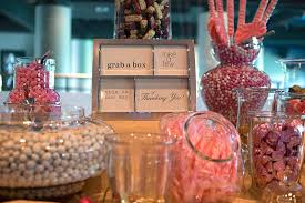 Diy Candy Buffet by Have A Candy Buffet For Delicious Wedding Favors