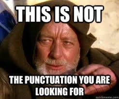 Correct Grammar Meme - obi wan grammar meme e things embarrassing typos and grammar