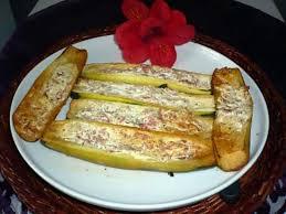 boursin cuisine recette recette de courgettes bacon boursin ail et fines herbes