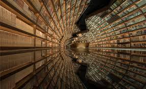 Ceiling Wallpaper by World U0027s Most Beautiful Modern Libraries Wallpaper