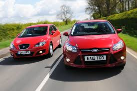 ford focus ecoboost vs seat leon tsi pictures ford focus