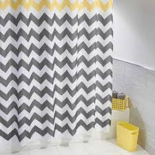 Gray And Yellow Chevron Shower Curtain by 100 Chevron Print Bedding Yellow And Gray Bedding That Will