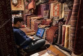 venditore di tappeti venditore di tappeti a londra foto editoriale stock