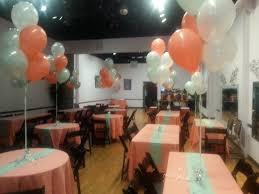 balloon centerpieces wedding centerpieces coral and