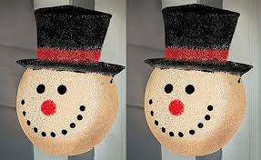 snowman outdoor yard decorations christmas wikii