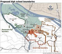 Map Of Portland Oregon Neighborhoods by Miles Apart On Boundaries Northeast Portland Parents