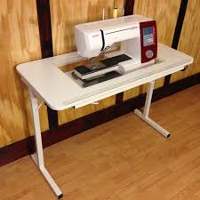 gidget sewing machine table leah s affordable sewing table youtube