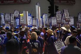oakland city workers strike as talks mayor calls