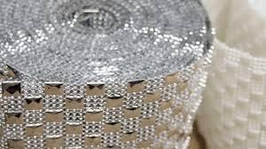 diamond mesh ribbon checkered squared plaid chess board metallic silver diamond