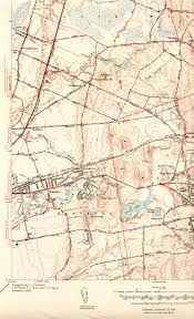 Manchester England Map by Manchester Historical Society