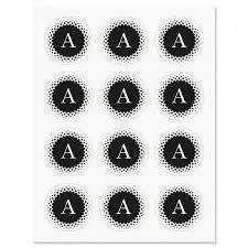 monogram stickers personalized monogram stickers current catalog