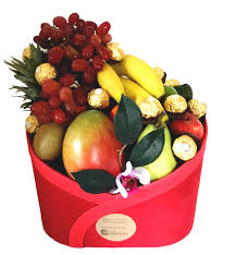 modern fruit fruit baskets give the healthy gift of a fruit basket igift
